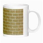 BRICK1 WHITE MARBLE & SAND Night Luminous Mugs Right