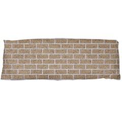 Brick1 White Marble & Sand Body Pillow Case Dakimakura (two Sides)