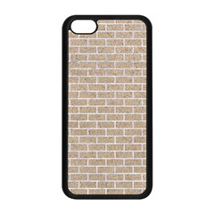 Brick1 White Marble & Sand Apple Iphone 5c Seamless Case (black)