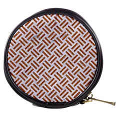 WOVEN2 WHITE MARBLE & RUSTED METAL (R) Mini Makeup Bags
