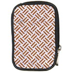 WOVEN2 WHITE MARBLE & RUSTED METAL (R) Compact Camera Cases Front