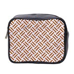 WOVEN2 WHITE MARBLE & RUSTED METAL (R) Mini Toiletries Bag 2-Side Front