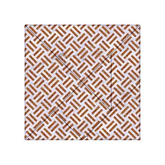 WOVEN2 WHITE MARBLE & RUSTED METAL (R) Acrylic Tangram Puzzle (4  x 4 )