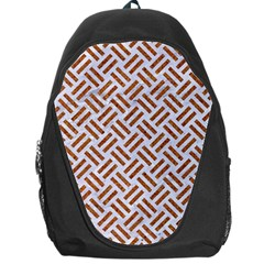 WOVEN2 WHITE MARBLE & RUSTED METAL (R) Backpack Bag