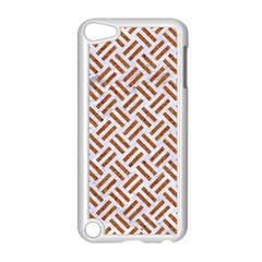 Woven2 White Marble & Rusted Metal (r) Apple Ipod Touch 5 Case (white) by trendistuff