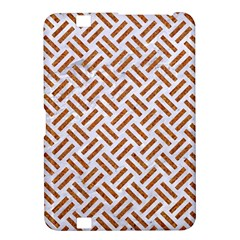 WOVEN2 WHITE MARBLE & RUSTED METAL (R) Kindle Fire HD 8.9