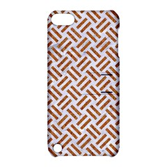 WOVEN2 WHITE MARBLE & RUSTED METAL (R) Apple iPod Touch 5 Hardshell Case with Stand