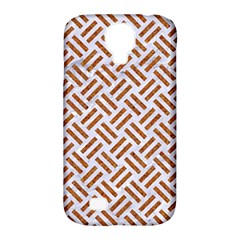 WOVEN2 WHITE MARBLE & RUSTED METAL (R) Samsung Galaxy S4 Classic Hardshell Case (PC+Silicone)