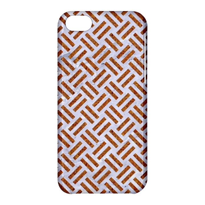 WOVEN2 WHITE MARBLE & RUSTED METAL (R) Apple iPhone 5C Hardshell Case