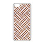 WOVEN2 WHITE MARBLE & RUSTED METAL (R) Apple iPhone 5C Seamless Case (White) Front