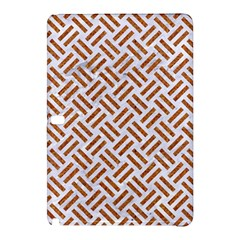 WOVEN2 WHITE MARBLE & RUSTED METAL (R) Samsung Galaxy Tab Pro 10.1 Hardshell Case