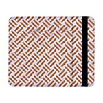 WOVEN2 WHITE MARBLE & RUSTED METAL (R) Samsung Galaxy Tab Pro 8.4  Flip Case Front