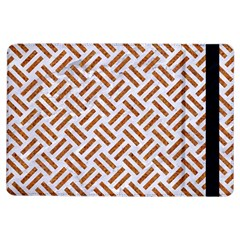 WOVEN2 WHITE MARBLE & RUSTED METAL (R) iPad Air Flip