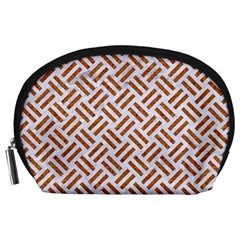 WOVEN2 WHITE MARBLE & RUSTED METAL (R) Accessory Pouches (Large)