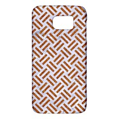 WOVEN2 WHITE MARBLE & RUSTED METAL (R) Galaxy S6