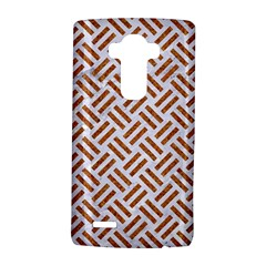 WOVEN2 WHITE MARBLE & RUSTED METAL (R) LG G4 Hardshell Case