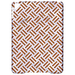 Woven2 White Marble & Rusted Metal (r) Apple Ipad Pro 9 7   Hardshell Case by trendistuff