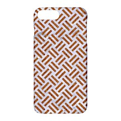 Woven2 White Marble & Rusted Metal (r) Apple Iphone 7 Plus Hardshell Case