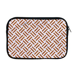 WOVEN2 WHITE MARBLE & RUSTED METAL (R) Apple MacBook Pro 17  Zipper Case