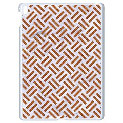 WOVEN2 WHITE MARBLE & RUSTED METAL (R) Apple iPad Pro 9.7   White Seamless Case