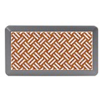 WOVEN2 WHITE MARBLE & RUSTED METAL Memory Card Reader (Mini) Front