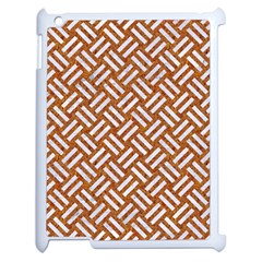 Woven2 White Marble & Rusted Metal Apple Ipad 2 Case (white)