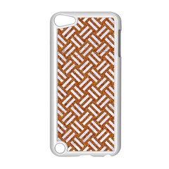 Woven2 White Marble & Rusted Metal Apple Ipod Touch 5 Case (white)