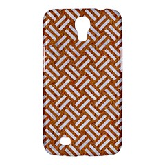 Woven2 White Marble & Rusted Metal Samsung Galaxy Mega 6 3  I9200 Hardshell Case