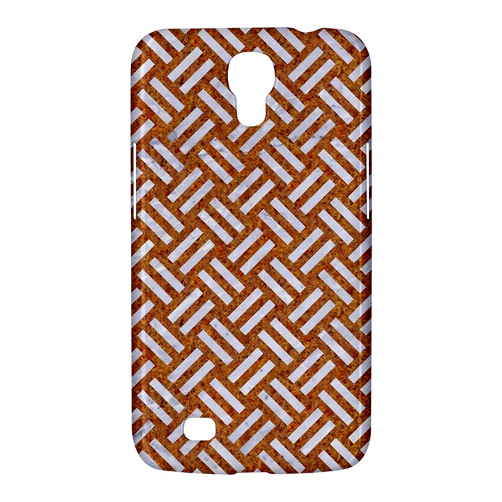 WOVEN2 WHITE MARBLE & RUSTED METAL Samsung Galaxy Mega 6.3  I9200 Hardshell Case