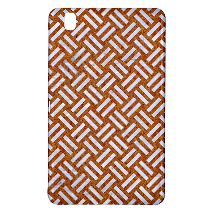 WOVEN2 WHITE MARBLE & RUSTED METAL Samsung Galaxy Tab Pro 8.4 Hardshell Case