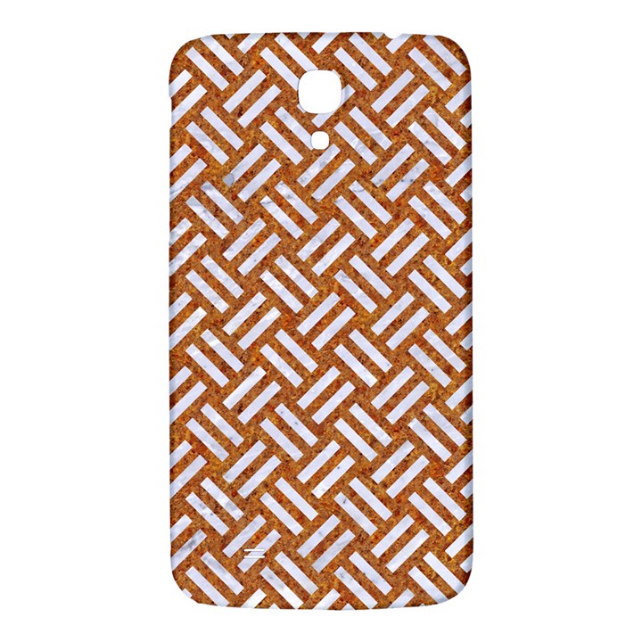 WOVEN2 WHITE MARBLE & RUSTED METAL Samsung Galaxy Mega I9200 Hardshell Back Case