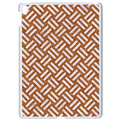 Woven2 White Marble & Rusted Metal Apple Ipad Pro 9 7   White Seamless Case