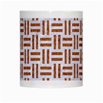 WOVEN1 WHITE MARBLE & RUSTED METAL (R) White Mugs Center