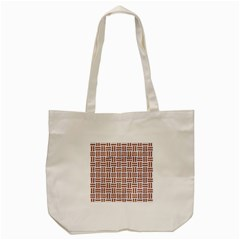 Woven1 White Marble & Rusted Metal (r) Tote Bag (cream)