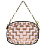 WOVEN1 WHITE MARBLE & RUSTED METAL (R) Chain Purses (Two Sides)  Front