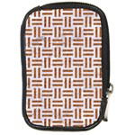 WOVEN1 WHITE MARBLE & RUSTED METAL (R) Compact Camera Cases Front