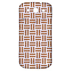 Woven1 White Marble & Rusted Metal (r) Samsung Galaxy S3 S Iii Classic Hardshell Back Case by trendistuff