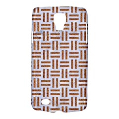 Woven1 White Marble & Rusted Metal (r) Galaxy S4 Active