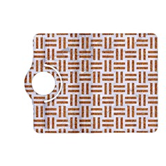 Woven1 White Marble & Rusted Metal (r) Kindle Fire Hd (2013) Flip 360 Case by trendistuff