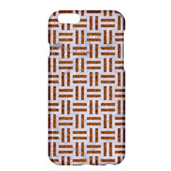 Woven1 White Marble & Rusted Metal (r) Apple Iphone 6 Plus/6s Plus Hardshell Case by trendistuff