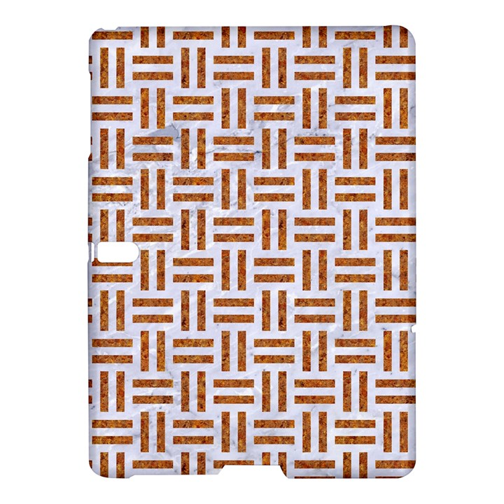 WOVEN1 WHITE MARBLE & RUSTED METAL (R) Samsung Galaxy Tab S (10.5 ) Hardshell Case