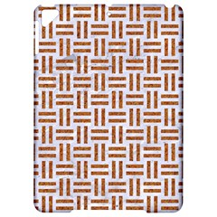 Woven1 White Marble & Rusted Metal (r) Apple Ipad Pro 9 7   Hardshell Case