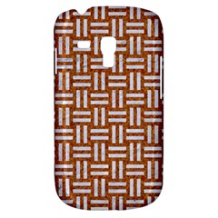 Woven1 White Marble & Rusted Metal Galaxy S3 Mini by trendistuff