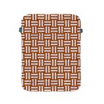 WOVEN1 WHITE MARBLE & RUSTED METAL Apple iPad 2/3/4 Protective Soft Cases Front