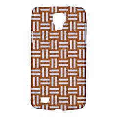 Woven1 White Marble & Rusted Metal Galaxy S4 Active by trendistuff