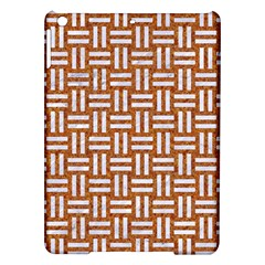 Woven1 White Marble & Rusted Metal Ipad Air Hardshell Cases