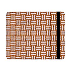 Woven1 White Marble & Rusted Metal Samsung Galaxy Tab Pro 8 4  Flip Case