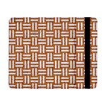WOVEN1 WHITE MARBLE & RUSTED METAL Samsung Galaxy Tab Pro 8.4  Flip Case Front