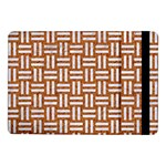 WOVEN1 WHITE MARBLE & RUSTED METAL Samsung Galaxy Tab Pro 10.1  Flip Case Front