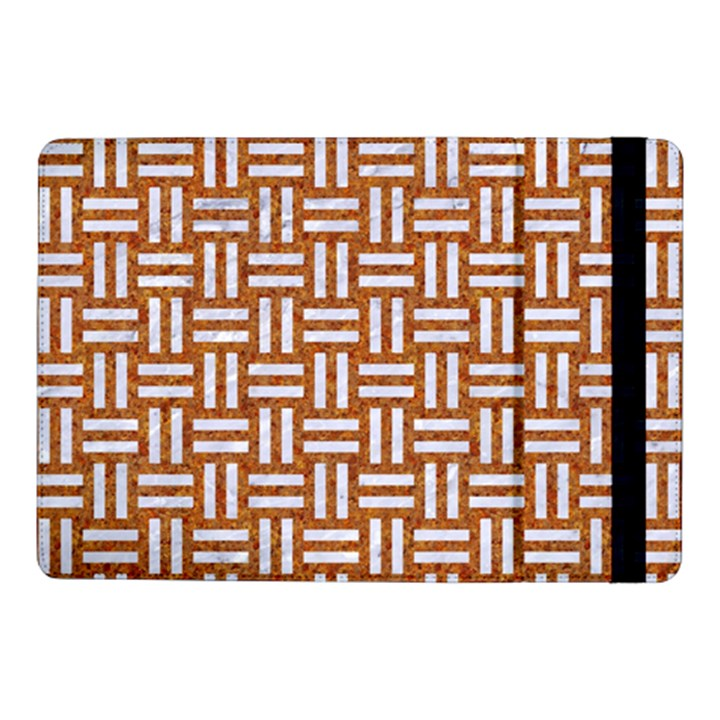 WOVEN1 WHITE MARBLE & RUSTED METAL Samsung Galaxy Tab Pro 10.1  Flip Case